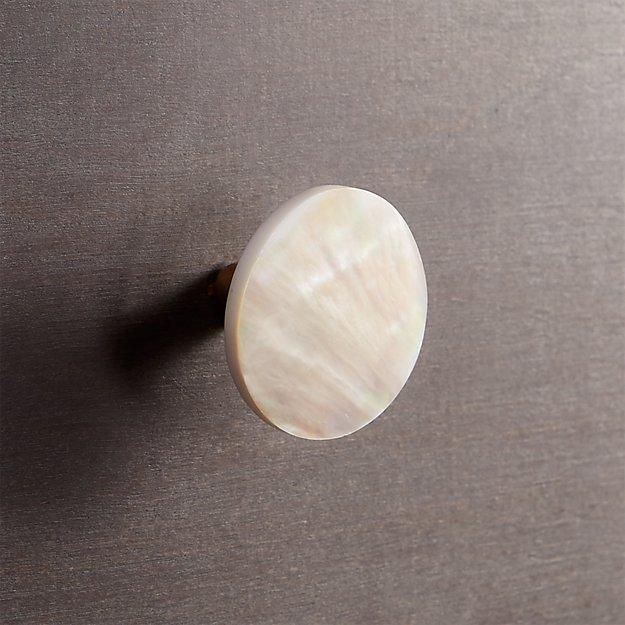 capiz light knob
