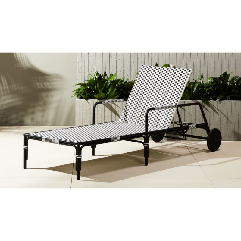 caprice resin wicker chaise lounge chair Reviews CB2