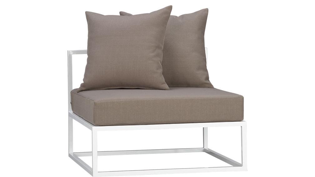 casbah armless chair
