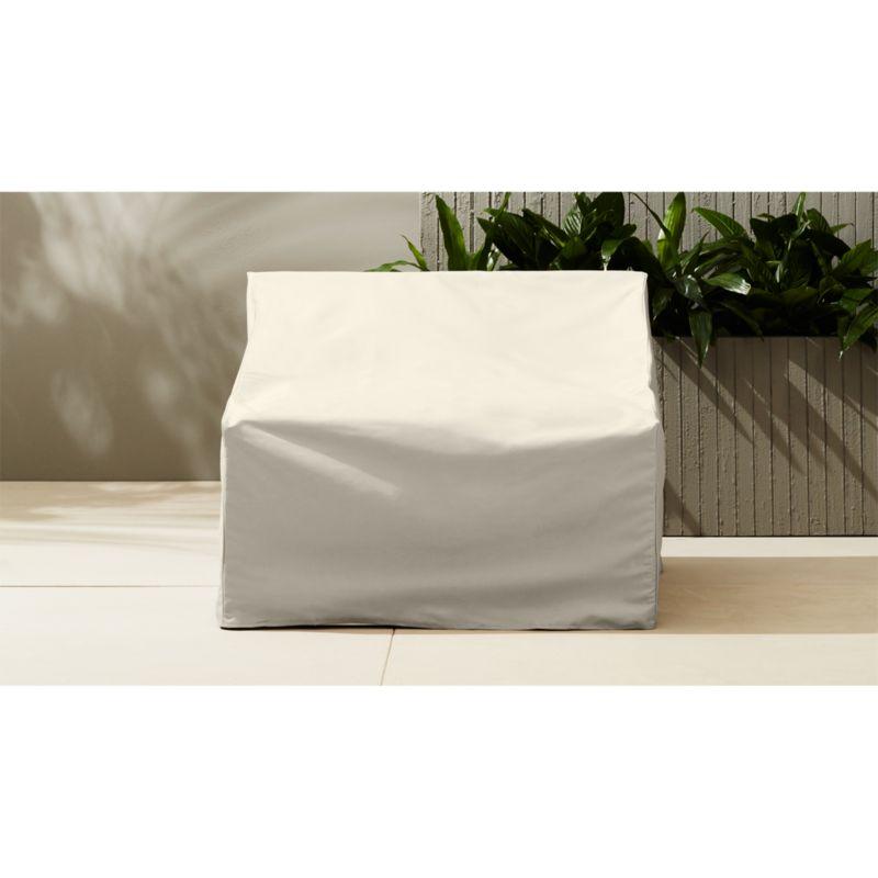 casbah armless chair cover