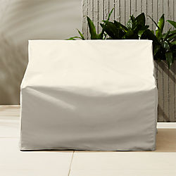 casbah waterproof armless chair cover