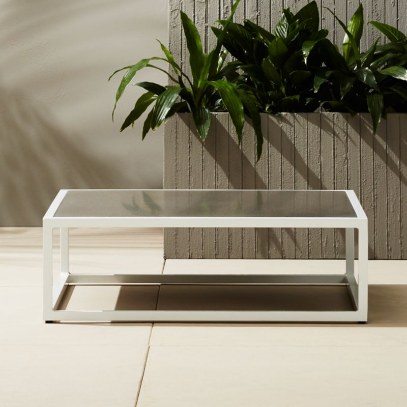 Casbah Low Outdoor Coffee Table | CB2