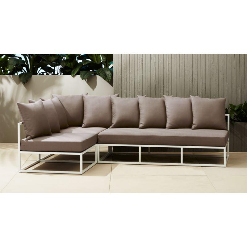casbah modular outdoor sectional sofaCB2