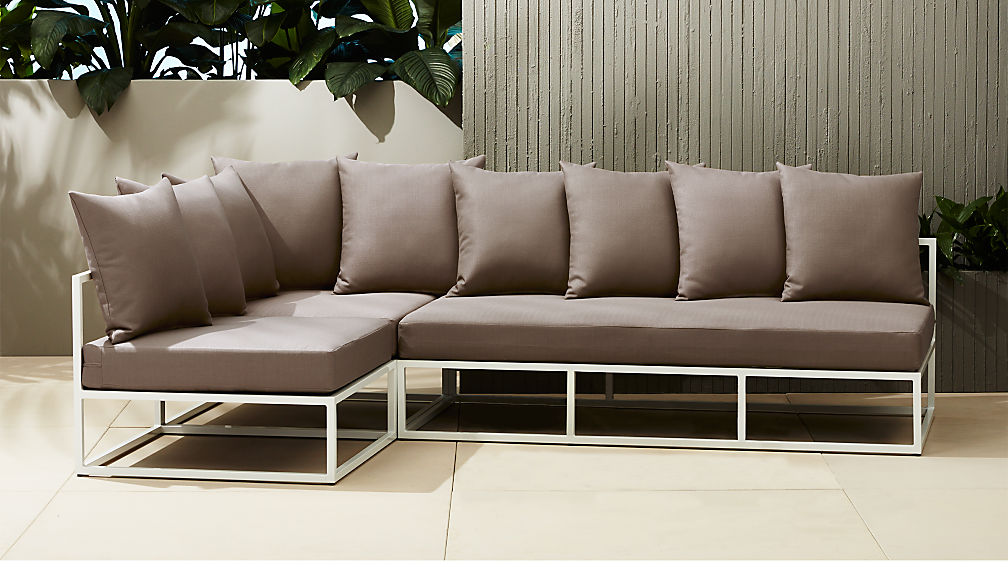 casbah outdoor sectional - Sectional Patio Furniture
