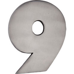 cast iron house number 9