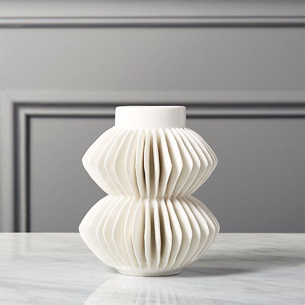 Celia White Vase