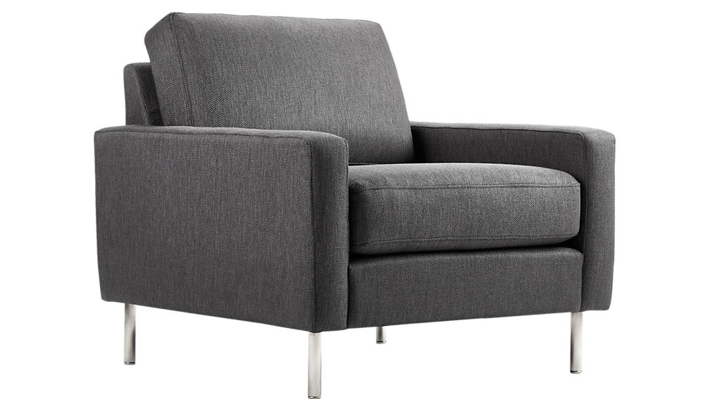 central graphite chair