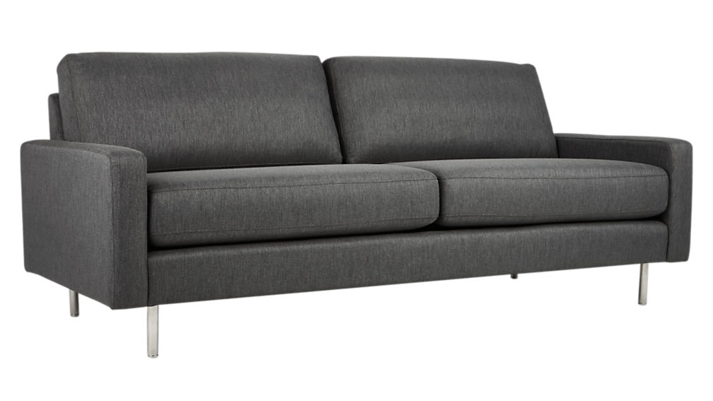 central salt & pepper sofa