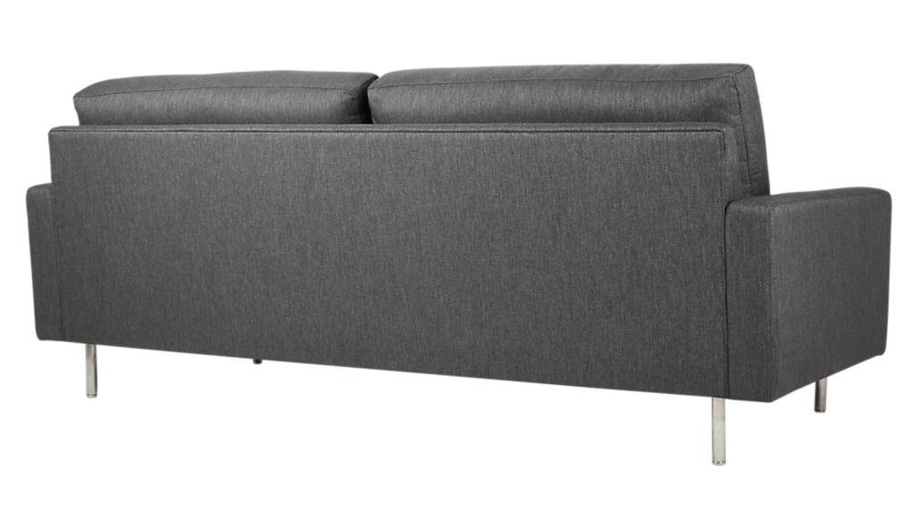 central grey sofa