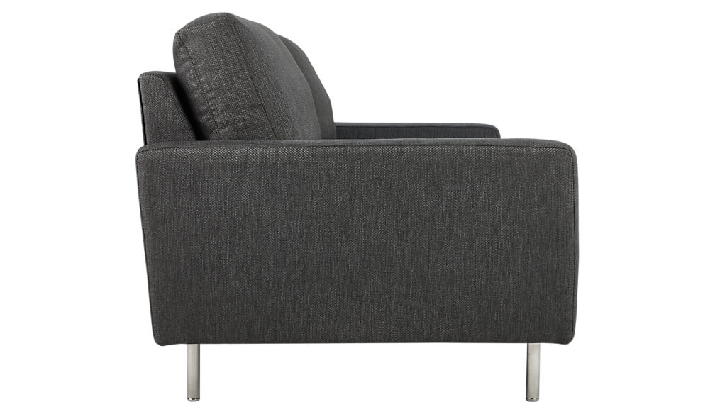 central pewter sofa