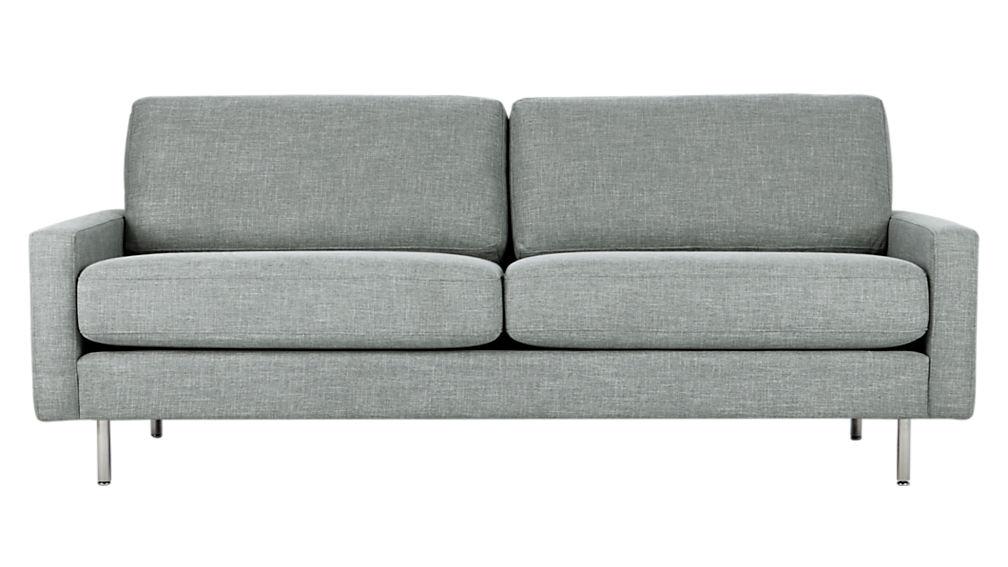 central slate sofa