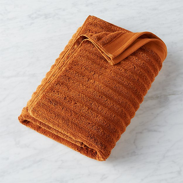 channel copper cotton bath towel