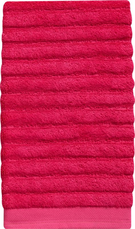 channel electric berry hand towel