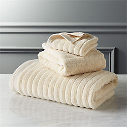 channel ivory bath towels