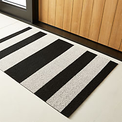 chilewich ® black and white utility mat