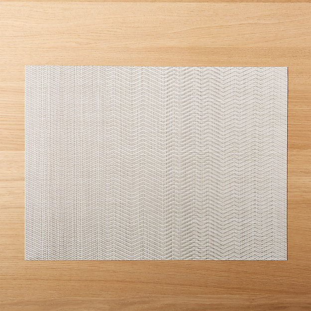 Chilewich ® Wave Neutral Placemat