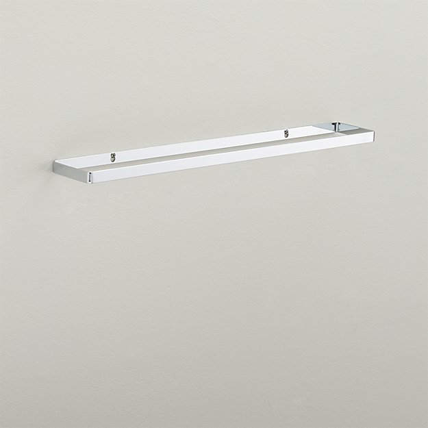 chrome towel bar 24""