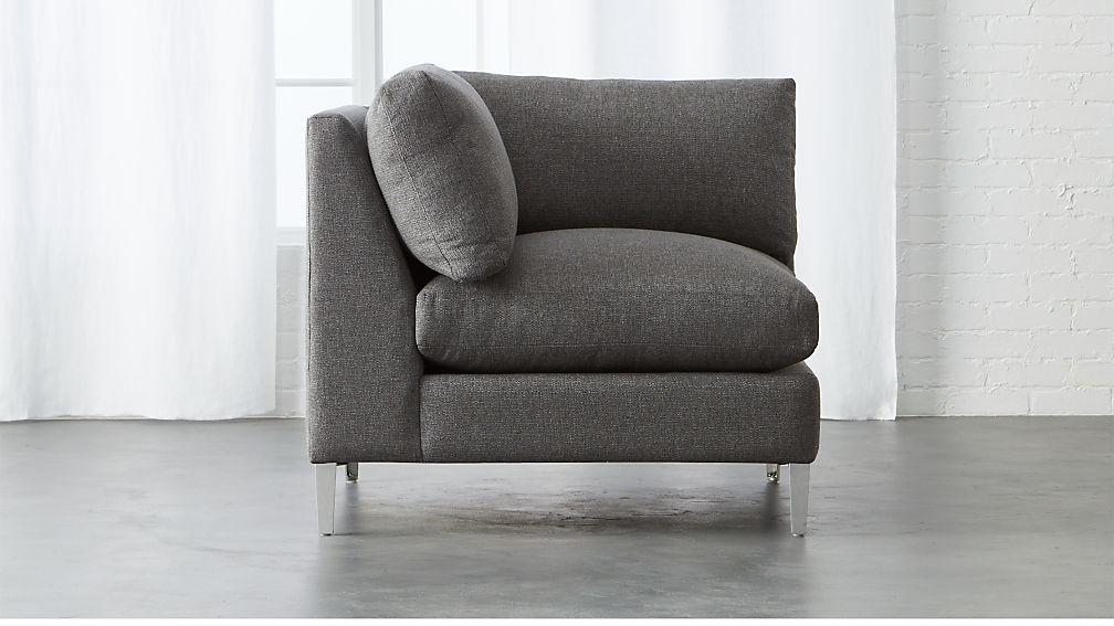 cielo II corner chair ... : cb2 cielo sectional - Sectionals, Sofas & Couches