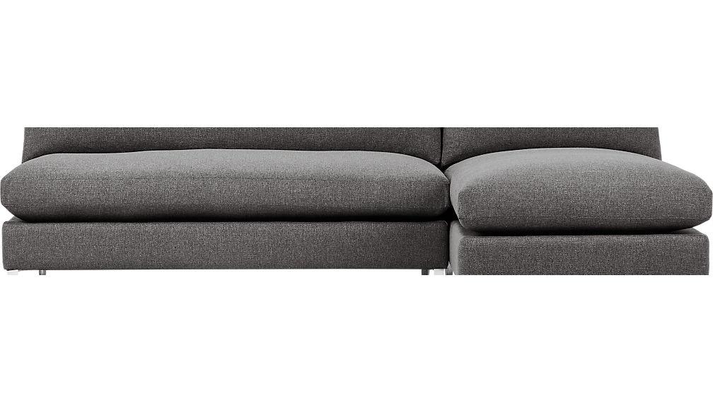 cielo II 2-piece sectional sofa ...  sc 1 st  CB2.com : cb2 cielo sectional - Sectionals, Sofas & Couches