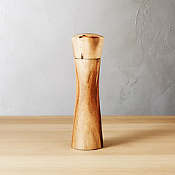 cinch acacia short salt-pepper mill