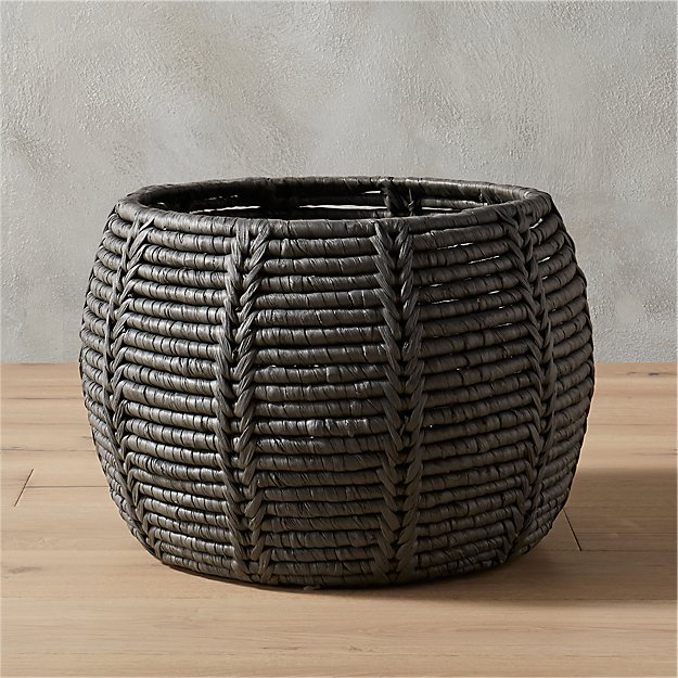 cinder grey basket