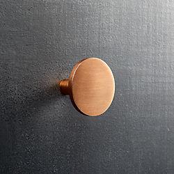 circle copper knob colors