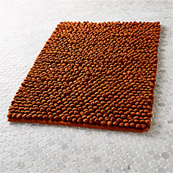 cirrus copper bath mat