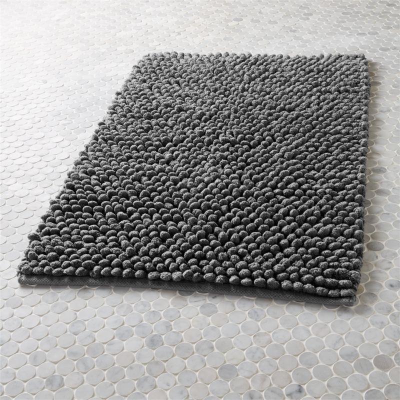 modern bath mats CB2