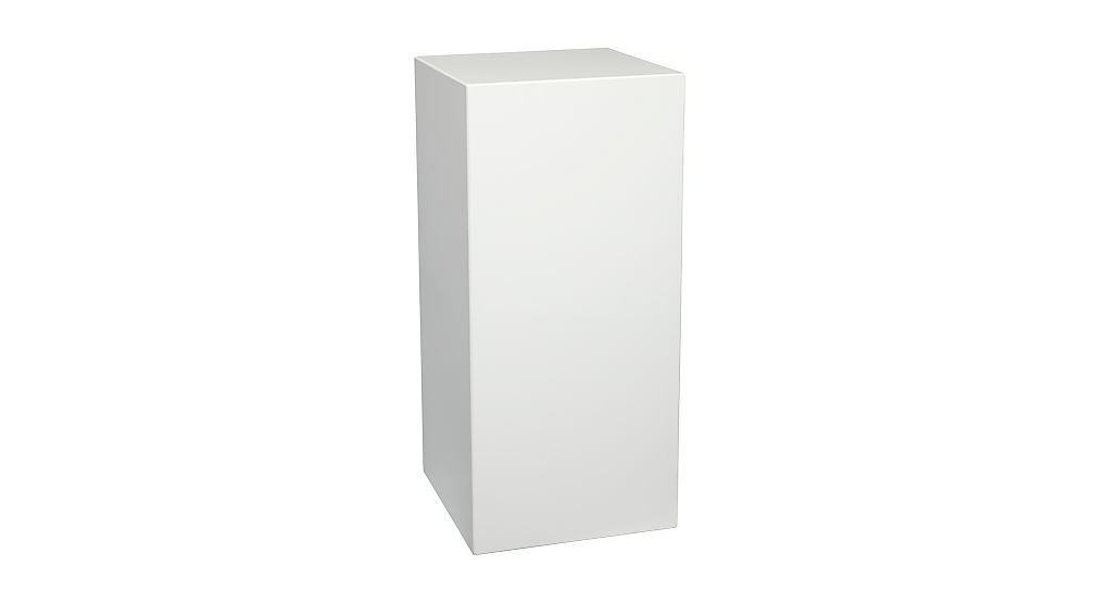 city slicker small pedestal table