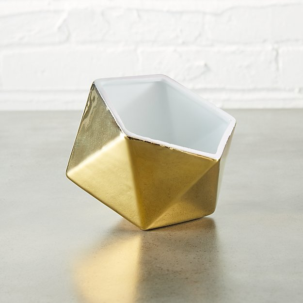 clarity gold bowl
