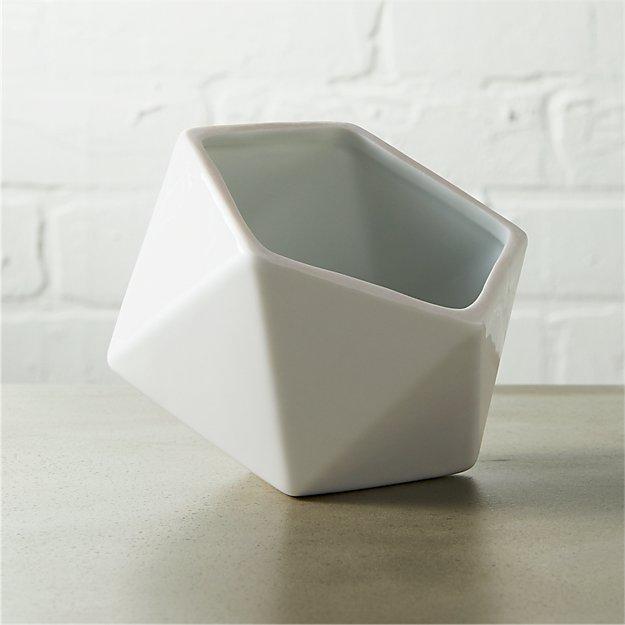 clarity white bowl