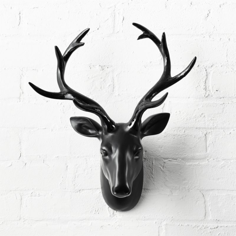 Animal Head Wall Decor animal head wall decor   cb2