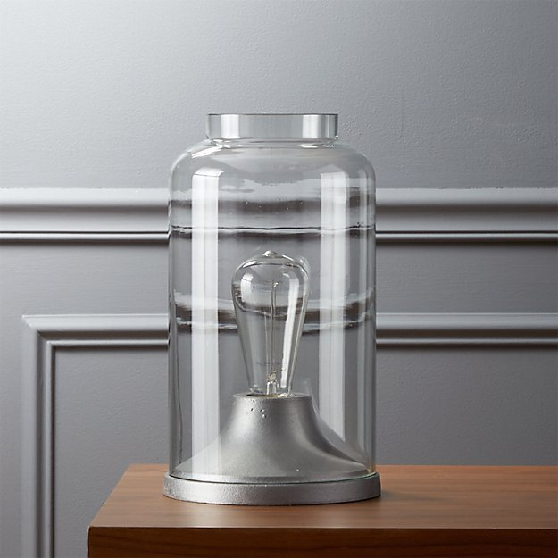 cloche table lamp