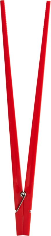 red clothespin chopsticks
