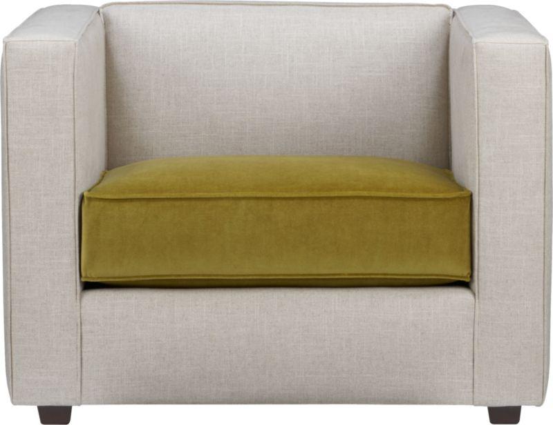 club 2-tone chair