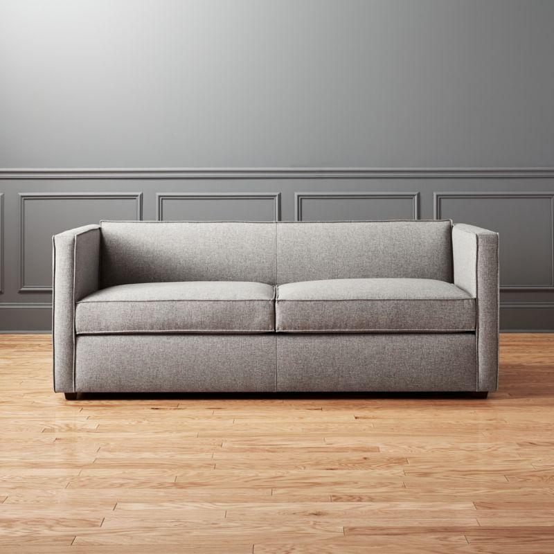 modern sleeper sofa. Club Grey Queen Sleeper Sofa Modern M