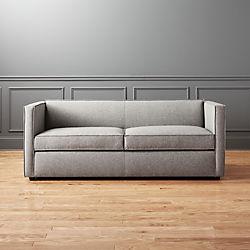 Club Grey Queen Sleeper Sofa