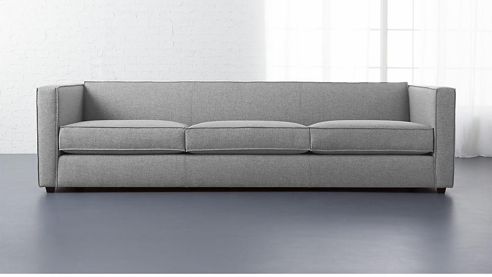 club 3 seater sofa cb2. Black Bedroom Furniture Sets. Home Design Ideas