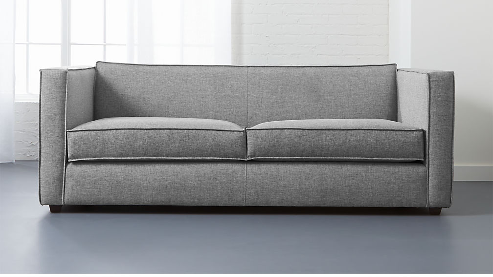 Sofa club club light grey sofa cb2 thesofa for Cb2 leather sectional
