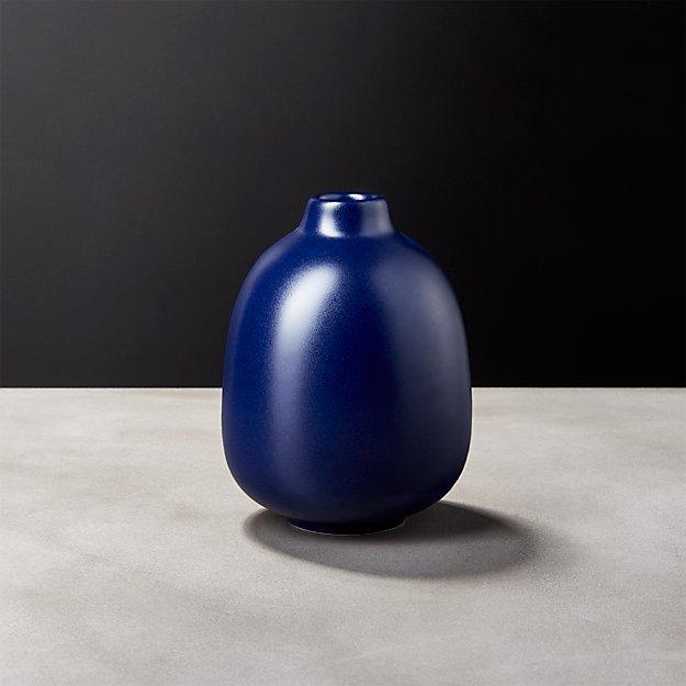 Cobalt Blue Bud Vase