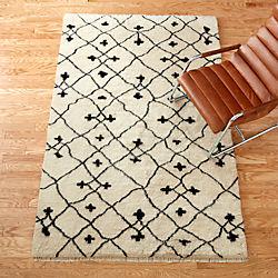communion shag rug
