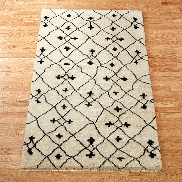 communion shag rug
