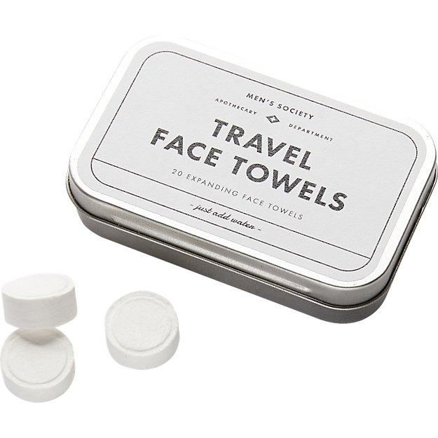 set of 20 men's society compressed towel tablets