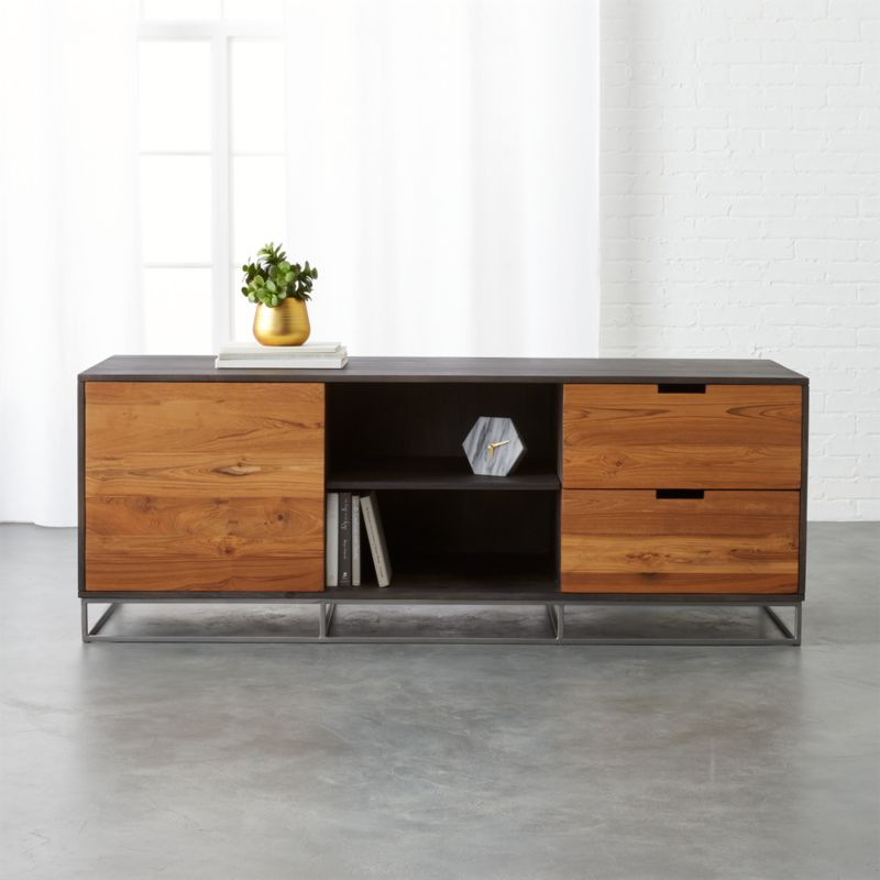 Congo Large Teak Credenza Reviews Cb2