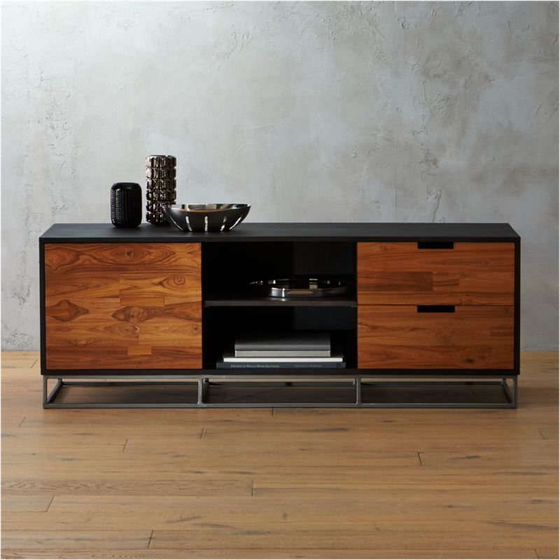Congo Modern Media Credenza In Media Storage Reviews Cb2
