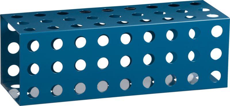 connect blue cube shelf