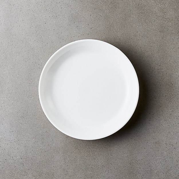 Contact Bone China White Appetizer Plate