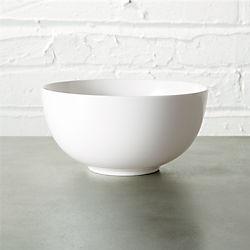 contact white bowl