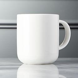 Contact Bone China White Mug