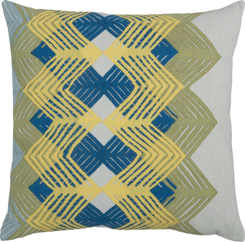 "cool chevron 20"" outdoor pillow"